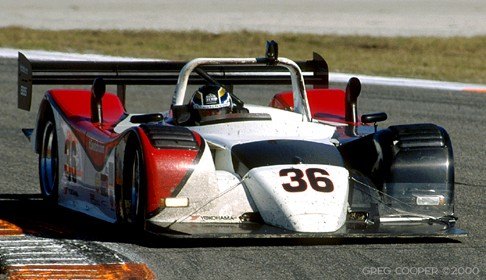 Sunday morning, Daytona 24, 2000