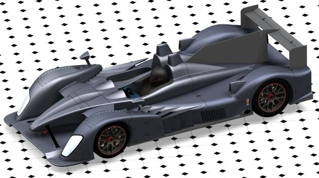 2011 Riley LMP2 concept
