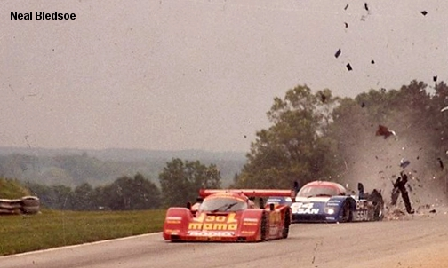 Road Atlanta 1992, Nissan NPT-90