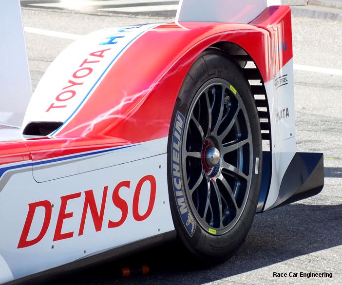 2012 Toyota TS030 Hybrid LMP1