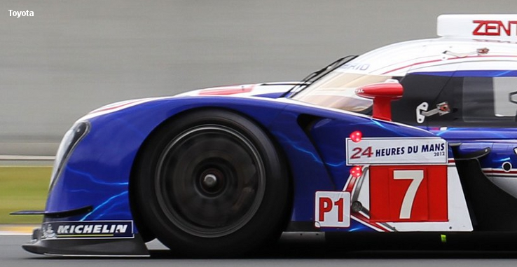 Toyota TS030, Le Mans test 2012