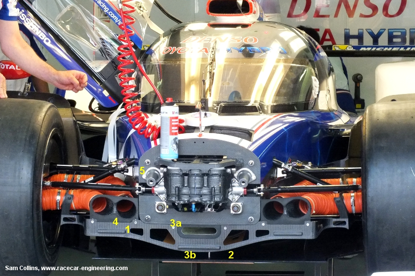 Toyota TS030, Le Mans Test 2013, image copyright Sam Collins, www.racecar-engineering.com