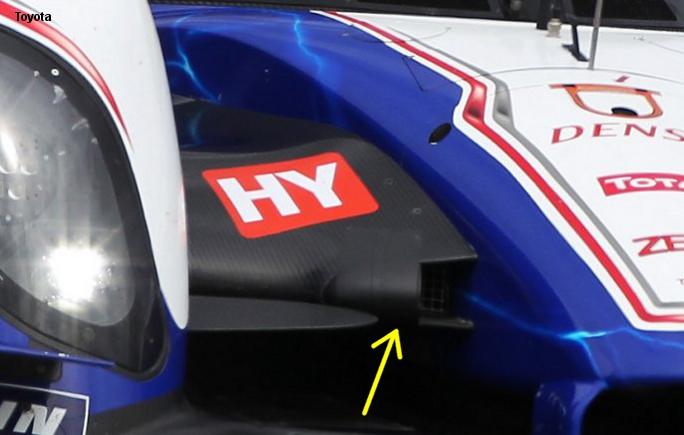 Toyota TS030, Silverstone 2012