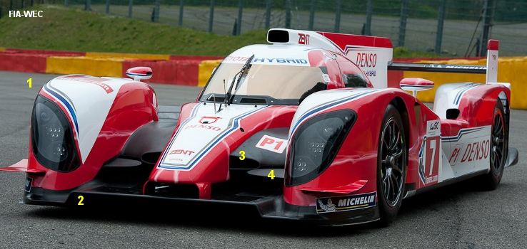 Toyota TS030, May 2012