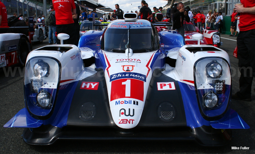 Toyota TS040, Le Mans Test 2015