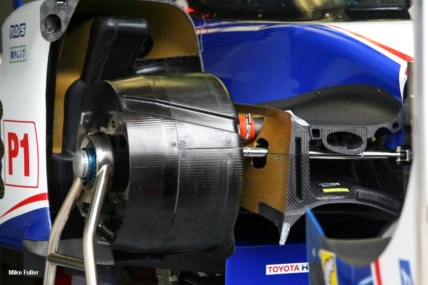 Toyota TS040, Le Mans Test 2015