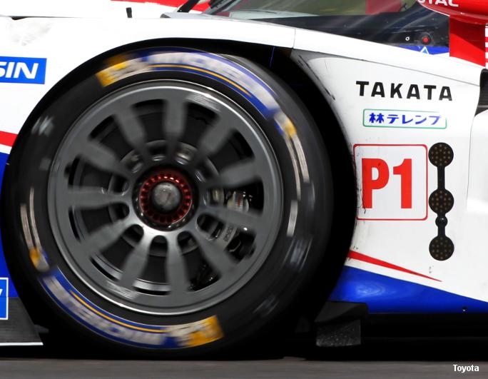 Toyota TS040 Silverstone WEC 2014