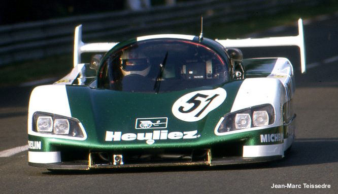 WM P88 Peugeot, Le Mans 1988