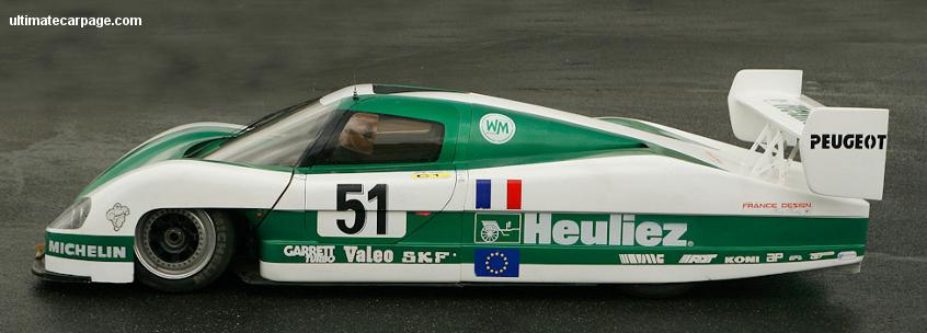 1988 WM P88 Peugeot