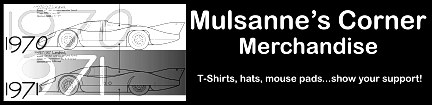 CLICK HERE FOR MULSANNE'S CORNER MERCHANDISE
