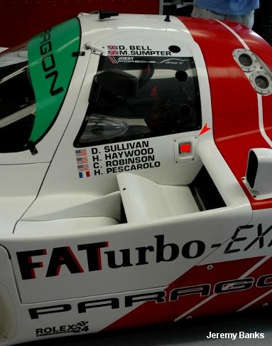 Joest Porsche 962C, Silverstone Historic Group C 2007