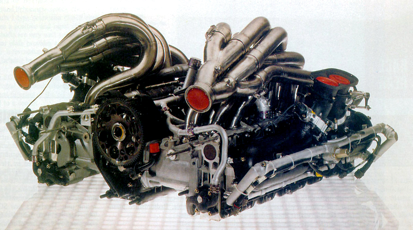 1991 Mercedes Benz C291 engine, 3.5 liter, flat-12
